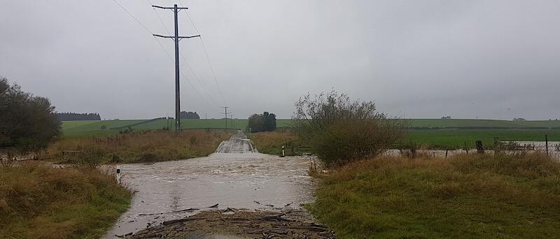 Timaru Ford flooding