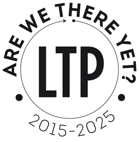 Are we there yet? LTP 2015-25 Logo.