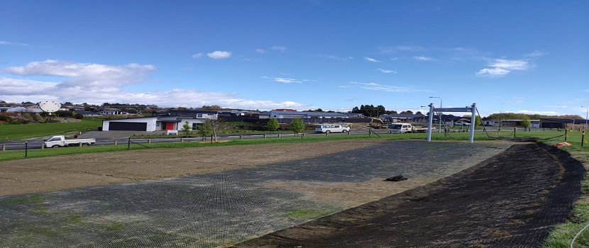 One of the playgrounds in the Timaru District that will be upgraded.