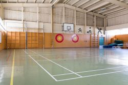 Pleasant Point Gymnasium - Interior