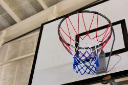 Pleasant Point Gymnasium - Basketball Hoop