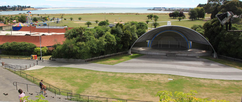 Caroline Bay Soundshell thumbnail image.