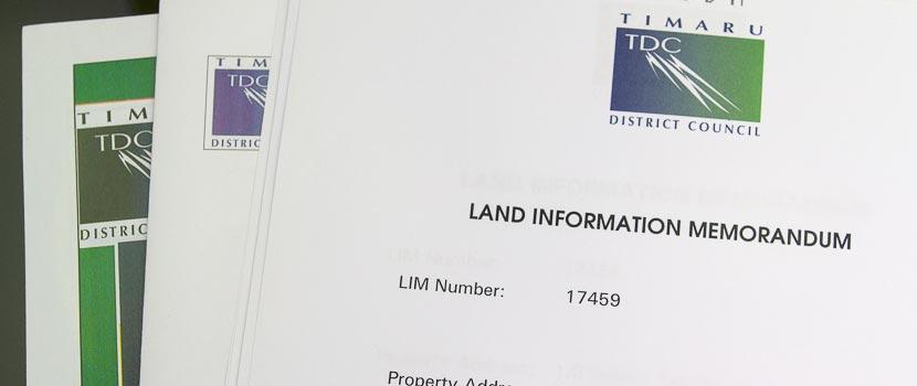 Land Information Memorandum (LIM) Fees thumbnail image.